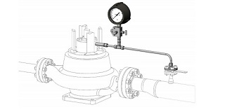 API 682 Plan 13 Flush, from Chamber to Suction