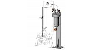 API 682 Plan 21 Cooled Flush