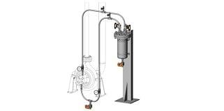 API 682 Plan 23 Cooled Flush, Recirculated through Seal Chamber