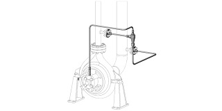 API 682 Plan 31 Flush with Cyclone Separator