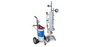 API 682 Plan 52 Buffer Fluid Seal Pot with Cart