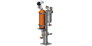 API 682 Plan 53B Barrier Fluid Pressurized by Bladder Accumulator