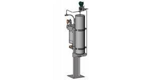 API 682 Plan 53C Barrier Fluid Pressurized by Piston Accumulator